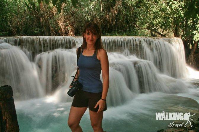 05/11/15 Kuang Si waterfalls.